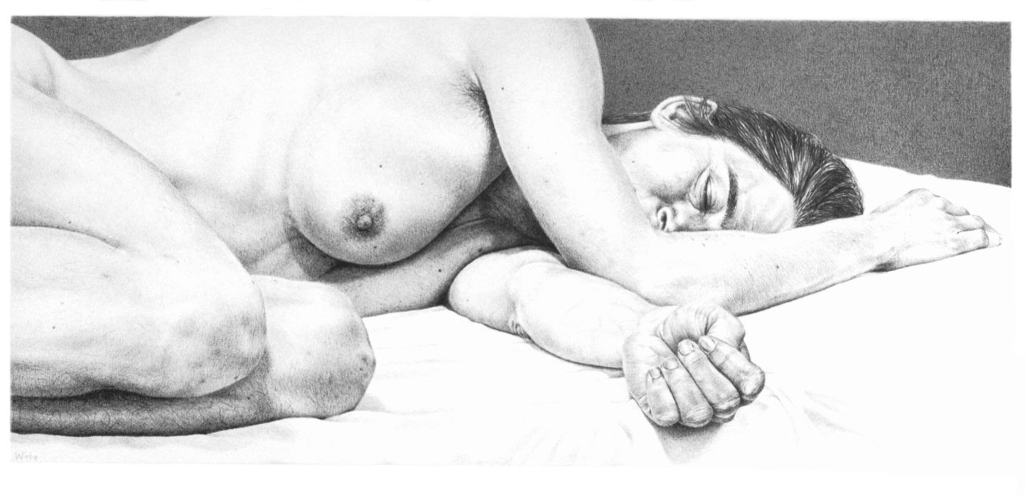 SlapendeVrouwM.Pleister19x42_2001