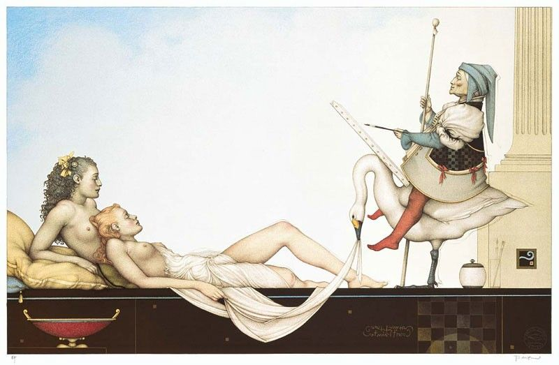 michael_parkes_litho_the_court_painter_2002_1
