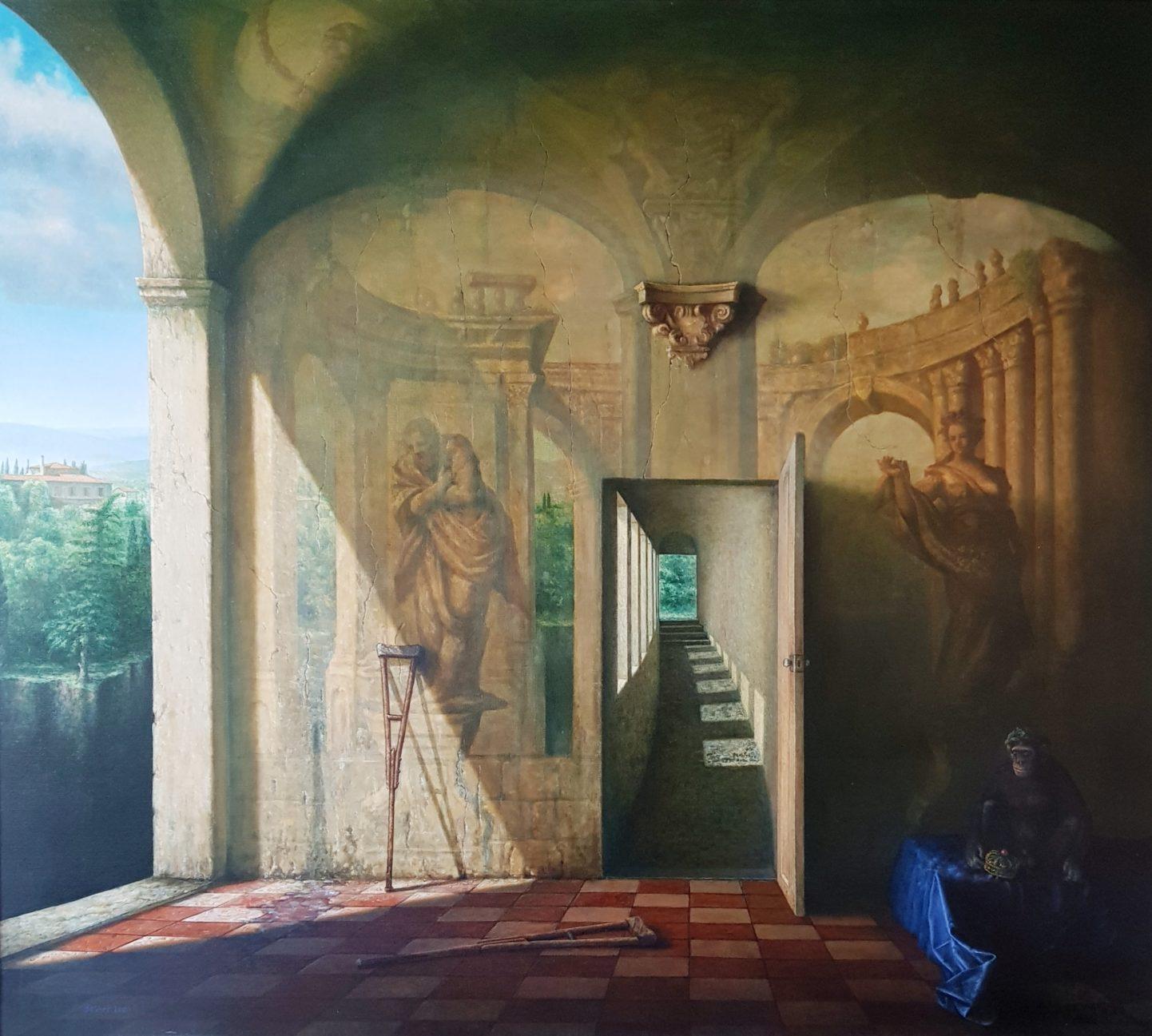 Basher Mahdi Abas - De Triomf - 120x130